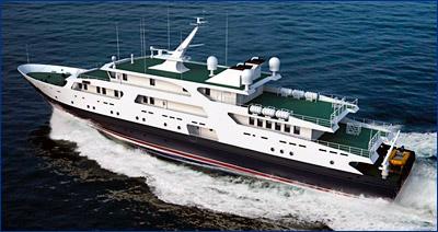 Обновлённый катер связи для ВМФ