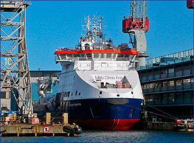 На «Arctech Helsinki Shipyard» спущено на воду судно ледового класса «Фёдор Ушаков»
