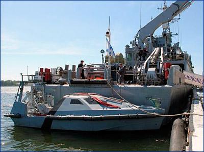 На новейших противоминных кораблях тралы заменили беспилотными катерами