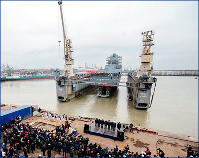 Корпус четвертого фрегата проекта 22350 сформируют к январю 2018 года