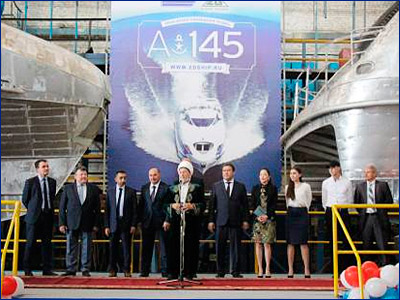 В Татарстане заложены два пассажирских судна для ОАЭ