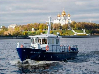 ЯСЗ поставит для ФСБ России многоцелевой катер «Ярославец-М»