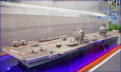 Юрий Борисов: ВМФ планирует заложить авианесущий крейсер до 2025 года