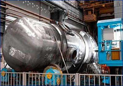 Завершена сборка корпуса реактора силовой установки для ледокола «Сибирь»