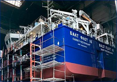 «Красное Сормово» спустит на воду танкер-химовоз проекта RST27М