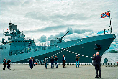 Испытания «Адмирала Макарова» почти завершены, осталось проверить один вид оружия
