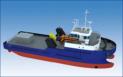 Окская судоверфь спустит на воду новое водолазное судно-катамаран