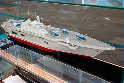 Перспективный российский десантный корабль получит имя «Севастополь»