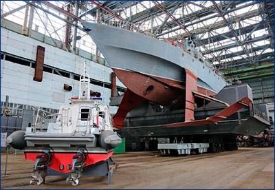 Крымский завод поставит ВМФ России первую партию малых ракетных кораблей