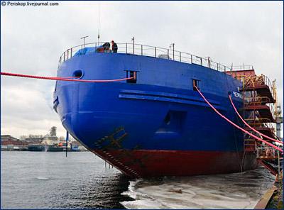 Ледокол «Виктор Черномырдин» будет передан для достройки на Адмиралтейские верфи