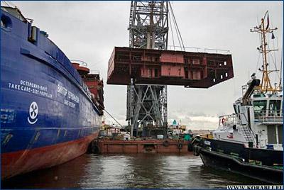 Балтийский завод готовит для Адмиралтейских верфей комплект документов по строительству ледокола