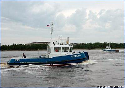 Малый флот Севмаша пополнился двумя новыми буксирами «Федор Шушарин» и «Владимир Чувакин»