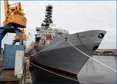 Северная верфь подготовила судно связи «Иван Хурс» к вселению экипажа