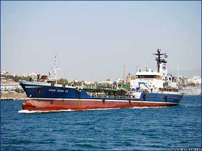 В Сароническом заливе затонул танкер «Agia Zoni II» с грузом на борту