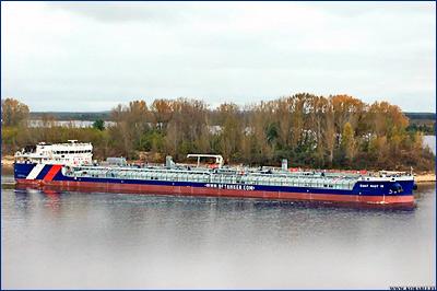 Завод «Красное Сормово» передал заказчику танкер-химовоз «Балт Флот 16»