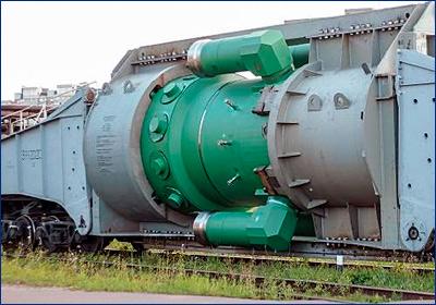 «ЗиО-Подольск» отправил на «Балтийский завод» второй реактор для ледокола «Сибирь»