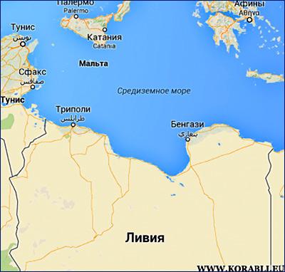 У западного побережья Ливии спасены 147 нелегальных мигрантов