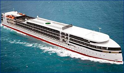 Строящийся на СЗ «Лотос» круизный лайнер отправится в первый круиз в 2019 году