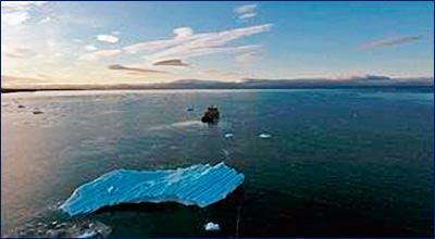 В ходе экспедиции «Кара-лето – 2017» произведена буксировка айсберга массой 1,1 млн тонн