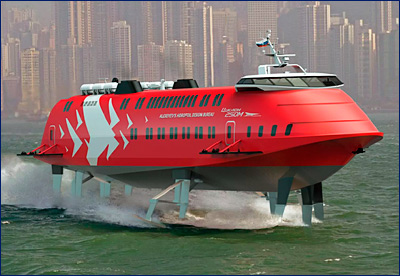 «ЦКБ по СПК им. Р.Е. Алексеева» представит проект обновленного судна типа «Метеор» в 2018 году
