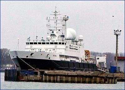 Третье океанографическое судно типа «Янтарь» для ВМФ начнут строить в 2020 году