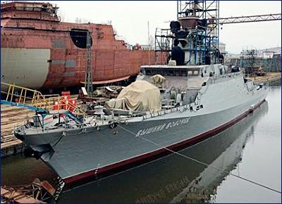 Черноморский флот РФ скоро усилят еще одним кораблем с «Калибрами»