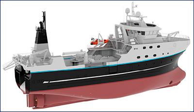 «Адмиралтейские верфи» построят траулеры проекта ST-192 для РРПК