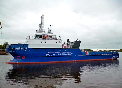 Катамаран проекта SDS18 «Игорь Ильин» пополнил флот ФБУ «Морская спасательная служба Росморречфлота»