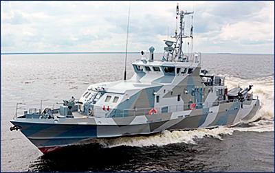 На Северном флоте проходят испытания противодиверсионного катера проекта 21980 «Грачонок»