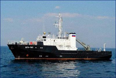Северный флот получит гидрографический катер «Баклан»