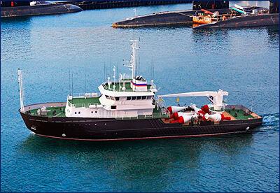 В Благовещенске собрали корпус малого гидрографического судна для ВМФ