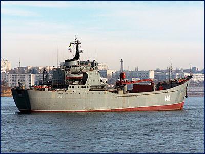 БДК «Орск» вышел на испытания после трехлетнего ремонта