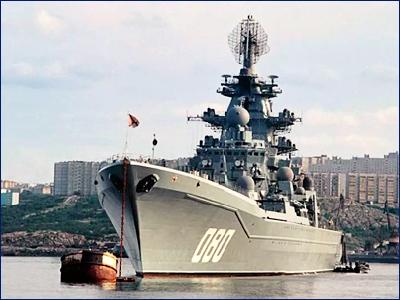 Крейсер «Адмирал Нахимов» поменяет внешний облик
