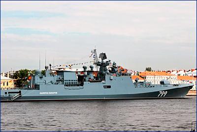 Фрегат «Адмирал Макаров» передадут ЧФ до конца года