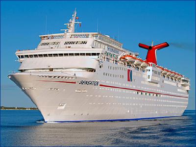 С борта круизного лайнера «Carnival Sensation» эвакуирована 66-летняя пассажирка