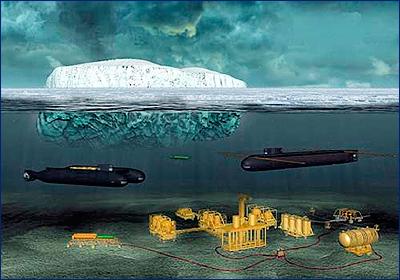 Завершена разработка подводных беспилотников для Арктики