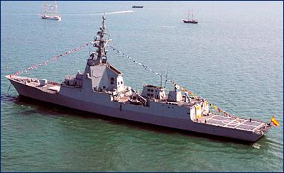 Флоту США предложат испанский проект для строительства новых фрегатов