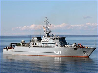 Новый корабль противоминной обороны получит имя «Яков Баляев»