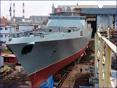 Более 10 ОКР по созданию перспективных кораблей запланированы в РФ на 2018-2027 годы