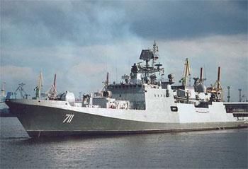 фрегат для ВМС Индии