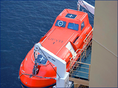 ЦНИИ «Курс» разработает спасательные шлюпки для ВМФ