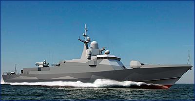 В Феодосии на ССЗ «Море» заложен МРК «Вихрь»