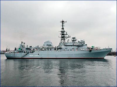 Разведчик «Иван Хурс» выйдет в море после 15 января