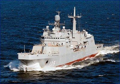 Большой десантный корабль «Иван Грен» передадут флоту до конца года