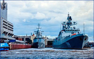 Фрегат «Адмирал Макаров» передан заказчику