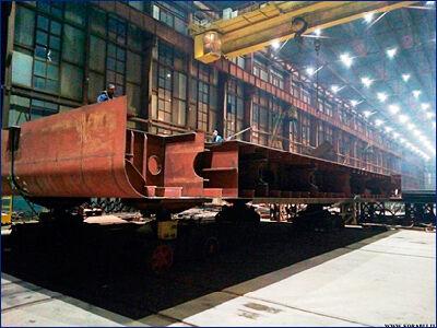 Невский ССЗ заложил четвертый сухогруз проекта RSD59