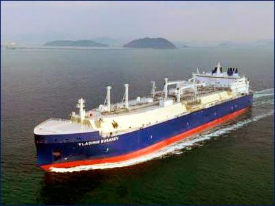 Газовоз «Владимир Русанов» для «Ямала СПГ» будет передан заказчикам в конце декабря