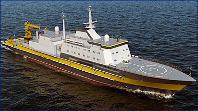 Постройка серийных спасателей проекта 21300 заложена в ГПВ-2027