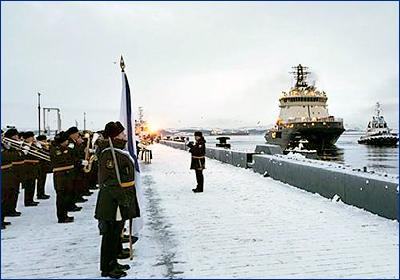 «Илья Муромец» прибыл к месту службы на Северном флоте
