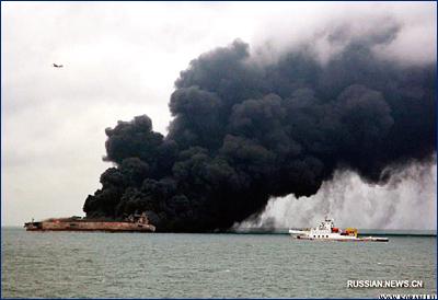 В зоне столкновения судов в Восточно-Китайском море обнаружено тело